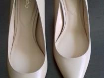 Pantofi Aldo kediredda, nude, din piele