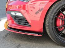 Prelungire splitter bara fata Seat Leon 5F MK3 Cupra Fr v5
