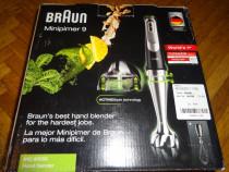 Braun mq 9005x, mixer vertical. nou