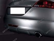 Difuzor votex adaos bara spate Audi TT 8J ABT Ab look DTM v1