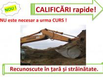 Atestat rapid buldoexcavator compactor mecanic utilaj greder