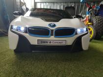 Masinuta electrica pentru Copii BMW i8 Alb Nou