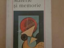 Bergson - Materie si memorie