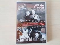 DVD Alfred Hitchcok,2 filme de colectie, nou, in tipla!