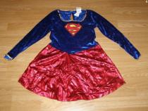 Costum carnaval serbare superman supergirl 9-10 ani