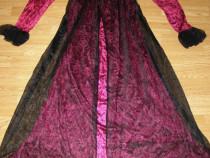 Costum carnaval serbare rochie medievala printesa adulti