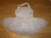 Costum carnaval serbare rochie dans balet ingeras adulti S-M