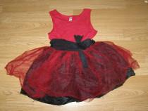 Costum carnaval serbare rochie gala 4-5-6 ani