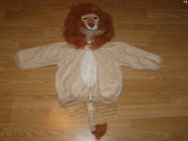 Costum carnaval serbare animal leu 1-2 ani