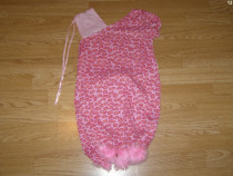 Costum carnaval serbare animal pantera roz 6-7 ani