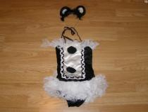 Costum carnaval serbare rochie dans balet 3-4 ani