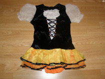 Costum carnaval serbare rochie bavareza dans 6-7 ani
