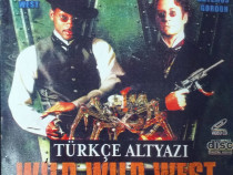 WILD WILD WEST (Will Smith) - Video-CD dublate in Turca