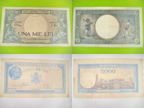 Bancnote vechi Romania Regalista RSR-Moderna.