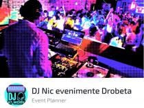 DJ Nic evenimente Drobeta - botezuri, cununii, majorate