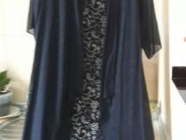 Rochie de seară mărimea 52 , culoare bleumarin
