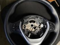 Volan BMW îmbrăcat în piele cu comenzi