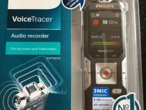 Reportofon 3 microfoane Philips dvt6010 sigilat 12 luni gara