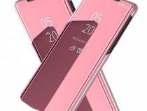 Husa Telefon Flip Book Clear View Samsung Galaxy A70 a705 Ro