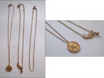 3 lantisoare + 2 medalioane