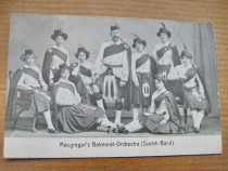 A633-I-Orchestra scotiana Macgregor's Balmoral carte postala