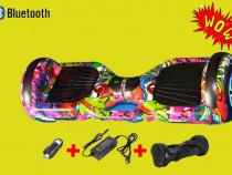 Hoverboard 1000W nou,garantie,led-uri bluetooth,telecomanda