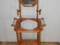 Mobila Vintage din Stejar -Lemn Masiv Tip Toaleta / Dressing