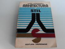 Arhitectura si stil aurel teodorescu