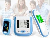 Pachet promo: termometru cu infrarosu - tensiometru - oximet