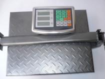 Cantar electronic platforma 300kg cu afisaj brat pliabil