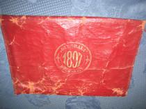 A686-Portofel Societatea Generala Bucuresti 1897 piele.