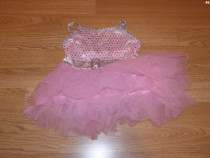 Costum carnaval serbare rochie printesa 1-2 ani