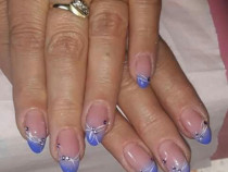 Aplic unghii gel sau semipermanente