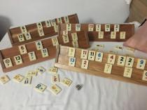 Rummy kardesler – suporți din lemn masiv. sigilat