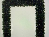 Arcada metalica brad luminoasa 2 m inaltime, iluminat festiv