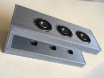 Sablon mobila plastic gri forma U ericsoane gauri 4/7mm v.2