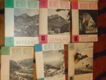Colectia muntii nostri ONT 11 numere cu harti