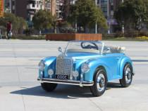 Mercedes 300s oldtimer cu roti moi #albastru