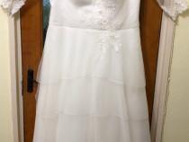 Ieftin rochie de mireasa și voal de la casa de moda sabrini