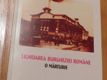 Lichidarea burgheziei romane de Grigore Gr. Alexandrescu