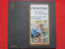 Vinil Stravinsky -Le Sacre Du Printemps -Pierre Boulez