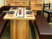 Set bucatarie lemn masiv