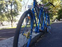 Bicicleta Tandem 3 locuri reconditionata, film Telegrame1954