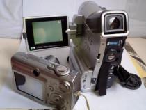 Camera foto digitala Canon Ixus7000 si camera video SONY MX7