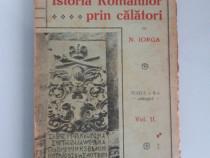 Nicolae iorga istoria romanilor prin calatori trei volume