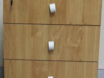 5 buc. Rollbox cu 3 sertare; Noptiera; Cub; Mic dulap de bir