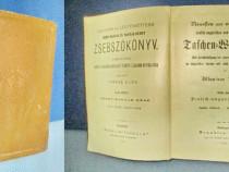 2269- I-Dictionar buzunar german-maghiar vechi 1891. Taschen