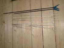 Suporti metalici / plastic (12 buc) pentru pescuit stationar