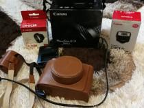 Canon G1X MarkII cu accesorii