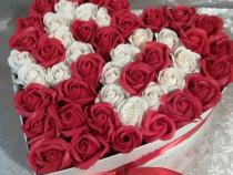 Aranjamente cu trandafiri din sapun parfumati!